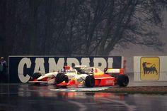 Derek Warwick  Footwork - Mugen Honda , Michele Alboreto  Lola - Ferrari  1993