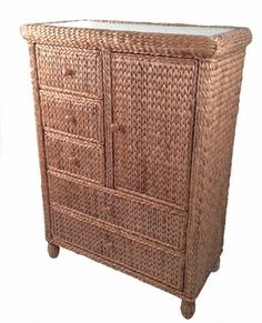 Seagrass Large Chest - Miramar #seagrass #tropical #bedroom #furniture http://www.wickerparadise.com/seagrass.html