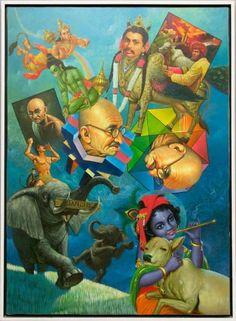 ERRÓ http://www.widewalls.ch/artist/erro/ #popart #postmodernism