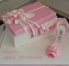 Jimmy Choo cake.