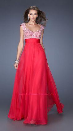 La Femme 20003   La Femme Fashion 2014 - La Femme Prom Dresses - #ipaprom