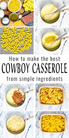 Comforting and delicious: this Cowboy Casserole is easy to make with pantry staples like corn, garlic, onions and tater tots, has an amazing texture and you will never tell it is vegan. A keeper that the whole family will enjoy, even pickiest eaters. #vegan #dairyfree #vegetarian #contentednesscooking #dinner #lunch #mealprep #freezermeals #cowboycasserole