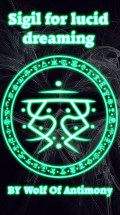 Sigil for lucid dreaming