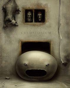 """ANTON SEMENOV:   """"Crematorium Fire, Giver Of Life"""""""