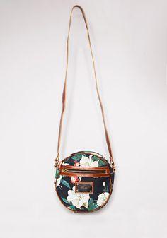 Circle floral bag