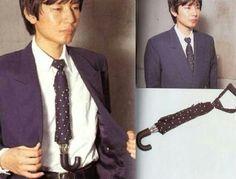 Necktie umbrella