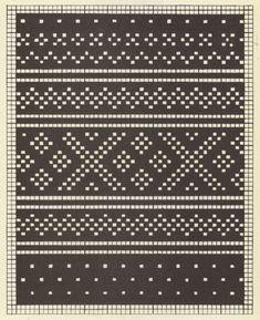 Bilderesultat for tradisjonelle strikkemønstre