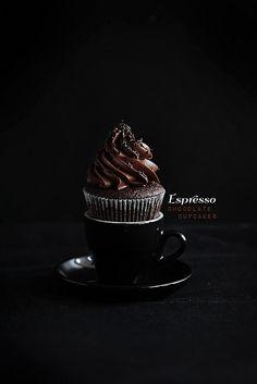 Perfect Espresso Cupcakes. Gosh. These look fantastic.