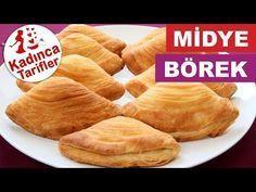 Peynirli Midye Börek Tarifi   Midye Börek Nasıl Yapılır   Börek Tarifleri Kadınca Tarifler - YouTube