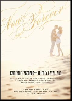 Forever Flair wedding invitations by Magnolia Press