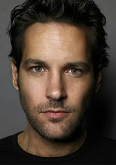 Paul Rudd, boy next door gorgeous...