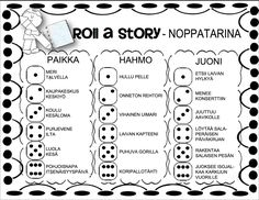 Roll A Story, Drama Education, Picture Writing Prompts, Never Stop Learning, Teaching Materials, Printable Worksheets, Elementary Math, Educational Activities, Teaching Reading