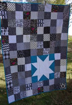 Sane, Crazy, Crumby Quilting: Starry Eyed 60 x 78
