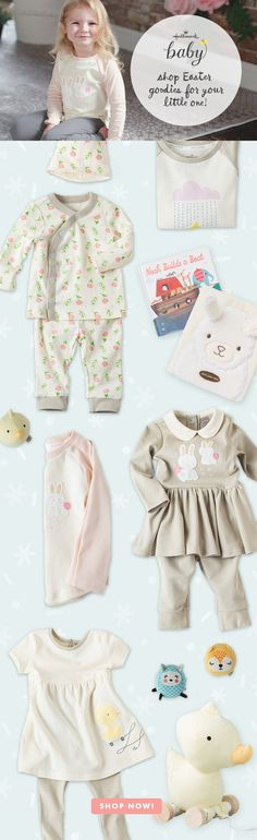 Load up their Easter baskets with goodies from Hallmark Baby!