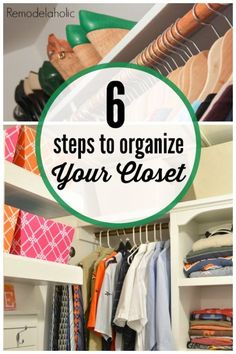 Does it seem like your closet takes on a life of its own, waiting patiently for the time when you will open it to pelt you with falling objects? Well, you are not alone and there is a cure—organization. Keeping a closet neat and organized makes it easier to see what you have so you can choose what it is you want to wear. Organizing a closet can be done in as little as six easy steps. Find out what those steps are by checking out the following guide and keep reading eBay for more tips!
