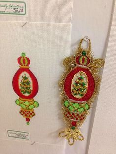 A Collection of Designs needlepoint Christmas Ornament