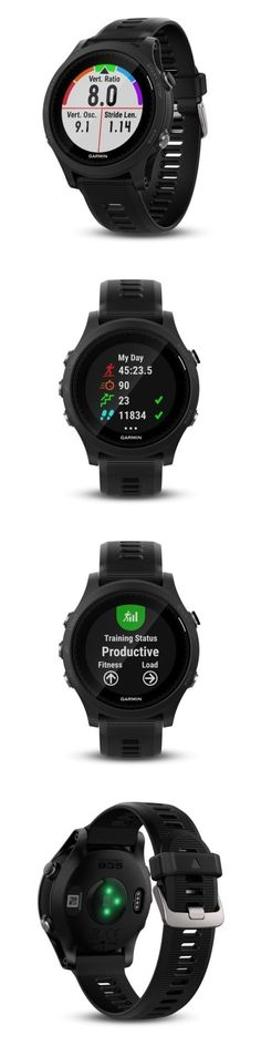 GPS and Running Watches 75230: Garmin Forerunner 935 Black Premium Gps Running Triathlon Watch 010-01746-00 -> BUY IT NOW ONLY: $525 on eBay!