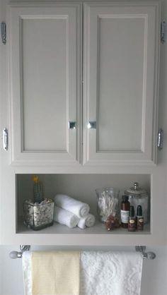 awesome floating bathroom shelves towel | Above toilet storage | Bathroom cabinets, Toilet storage ...
