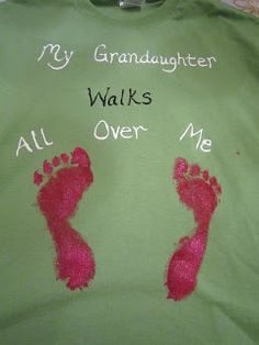 b0f41ef09 McGalver: Quick and Easy Fathers Day Crafts for Dads and Grandpas my  grandkid walks all over me. good for grandparents day too! Sunny T