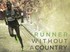 """Runner Without A Country by Bill Gallagher, via Kickstarter. """"A documentary about refugee Guor Marial, the Olympic marathon runner who ran in the London 2012 Olympics without a country. Refugee Stories, Olympic Runners, Olympic Marathon, Marathon Runners, Lost Boys, Persecution, Olympics, Documentaries, Take That"""