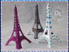 DIY: Faça sua própria Torre Eiffel | Torre Eiffel - YouTube