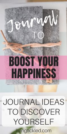 journal ideas for work Journal to Boost your Happiness: Journal Ideas to Discover Yourself Journal to boost your happiness; Journal ideas to discover yourself; How to Journal, journaling, journal inspiration, journal prompts; Writing Inspiration, Journal Inspiration, Journal Ideas, How To Journal, Happy Journal, Journal Diary, Affirmations, Gratitude Journal Prompts, Journal Questions