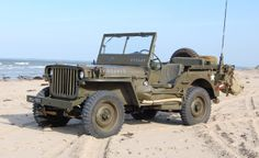 jeep on Utah Beach