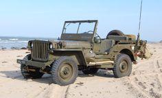 jeep on Utah Beach