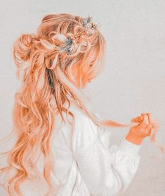 Peach Aesthetic, Betty Cooper, Loose Hairstyles, Hair Inspo, Diy For Kids, Your Hair, Style Inspiration, Hair Styles, Locks