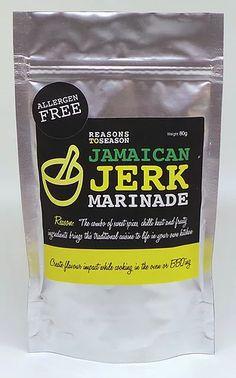 Jamaican Jerk Marinade   Reasons to Season Jerk Marinade, Us Foods, Roast, Bbq, Spices, Artisan, Potatoes, Vegetarian, Seasons