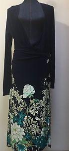 Old Navy Women's Medium Cardigan Navy Blue Floral Tie New | eBay