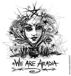 For us, Aradia is much more complex and much more simple than a just historical Christ-like figure of the witches or a goddess of witchcraft. Wicca, Magick, Witchcraft, Pagan, True Indeed, Witch Powers, Star Goddess, Auryn, Crystal Guide