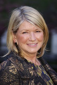 Martha Stewart, modern day Renaissance woman: business magnate, author, magazine publisher, and television personality.