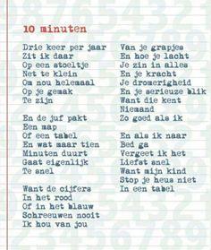 10 minuten gesprek