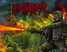 """Check out new work on my @Behance portfolio: """"Cover artwork for HYPOKALIPSE"""" http://be.net/gallery/33823980/Cover-artwork-for-HYPOKALIPSE"""