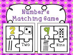Number Matching Game {1-10}