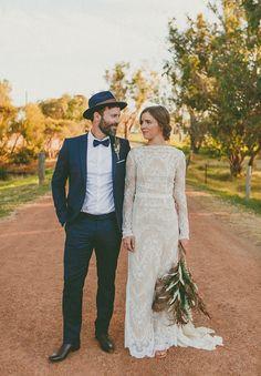 Romantisches Hochzeitskleid
