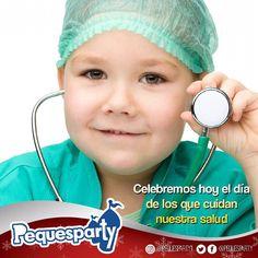Hoy es el #DiaDelMedico y en Pequesparty queremos felicitar a todos los que cuidan de nuestros peques.  #pequesparty #diadelmedico #salud #bienestar #niñosmaracaibo #fiestasmaracaibo #eventosmaracaibo #mcbo #sabado #findesemana