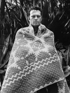 Vince Vaughn in a Hawaiian quilt (not sure what movie - anyone know?)