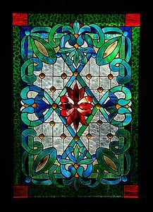 Leadlight Victorian Heritage Stained Glass Love this for the window above the front door. Find a pattern for it. Victorian Stained Glass Panels, Stained Glass Door, Stained Glass Designs, Stained Glass Projects, Stained Glass Patterns, Leaded Glass, Beveled Glass, Mosaic Art, Mosaic Glass