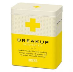 Recovery Kits -   Surely there must be a 'timing' guide for the friends who give this to their brokenhearted mates. #alwaysthinking