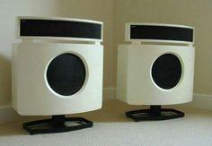 B & W DM70 speakers