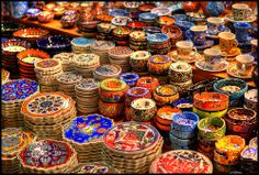 Go to #Istanbul #Turkey for the most amazing items especially at the #bazaars. Custom tours by Archaeologous.com #Vacations #TurkeyTours