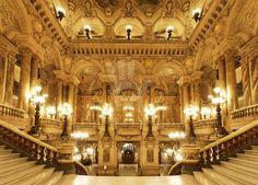 marble staircase Paris Opera House