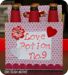 Love Potion. My Hubby and a pack of good beer or bottle of wine