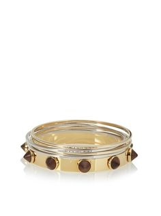 Fendi Stud Bangle Set