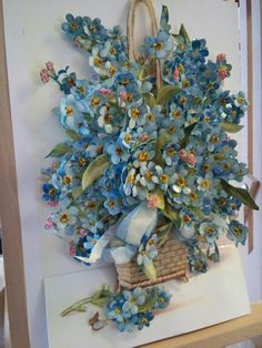 Pin by Lubov Kosovskaj on Бумага Clay Flowers, Fabric Flowers, Quilling Flowers, Paper Flowers, Arts And Crafts, Paper Crafts, Clay Crafts, Diy Paper, Popsicle Stick Crafts House