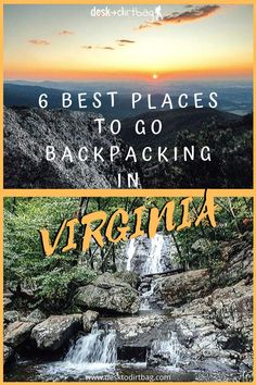 6 Best Places to Go Backpacking in Virginia