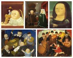 Happy birthday to Colombian artist, Fernando Botero, born April 19, 1932 in Medellín.