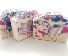 Jasmine Cold Process Soap, Handmade Cold Process Soap, Goats Milk Soap-Artisan Soap-Cp Soap-Goat Milk Soap, Cold Process Soap, Bar Soap by NanaJsHandmades on Etsy